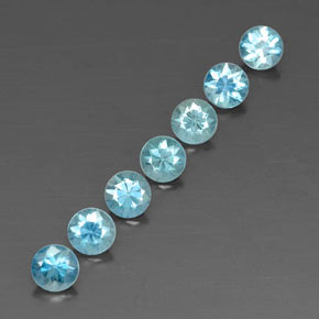 Buy 4.38 ct Blue Zircon 4.72 mm  from GemSelect (Product ID: 318723)