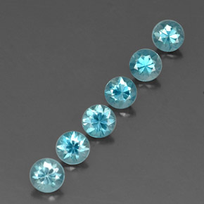 Buy 3.06 ct Blue Zircon 4.41 mm  from GemSelect (Product ID: 320325)