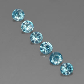 Buy 2.70 ct Blue Zircon 4.52 mm  from GemSelect (Product ID: 320328)