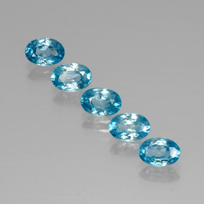 Buy 3.76 ct Blue Zircon 6.09 mm x 4.2 mm from GemSelect (Product ID: 320369)
