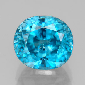 Buy 5.64 ct Blue Zircon 9.23 mm x 8.4 mm from GemSelect (Product ID: 327748)