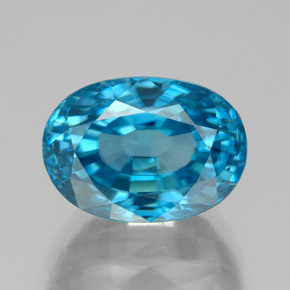 thumb image of 9.3ct Oval Facet Blue Zircon (ID: 337550)