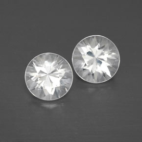 White Zircon Gem - 1.2ct Diamond-Cut (ID: 358643)