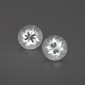 1.2ct Diamond-Cut White Zircon Gem (ID: 358650)
