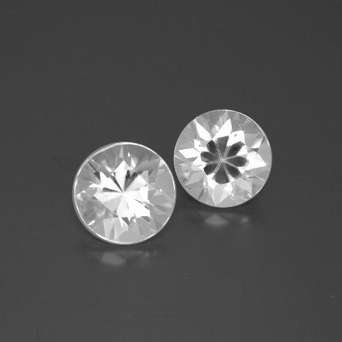 White Zircon Gem - 1.7ct Diamond-Cut (ID: 385796)