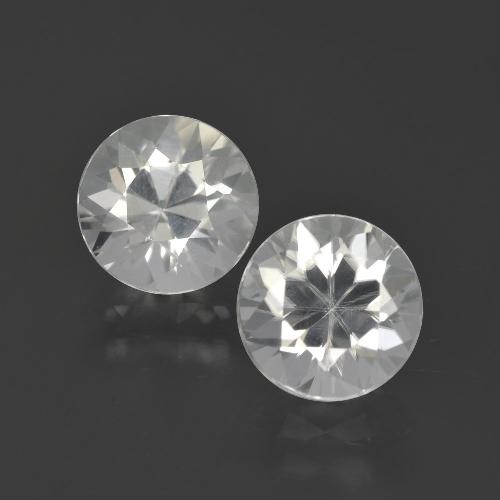 White Zircon Gem - 2.4ct Diamond-Cut (ID: 405515)