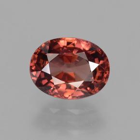 c3d5124e93e6 3.2ct Naranja rosado Circón Gema desde Tanzania Natural and No tratado