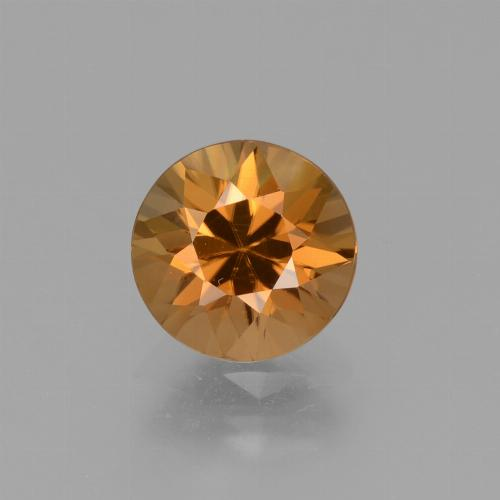 1.9ct Diamond-Cut Medium Orange Zircon Gem (ID: 432224)