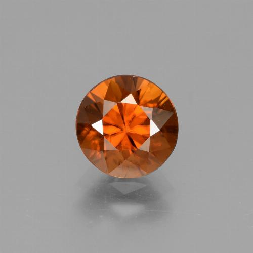 1.9ct Diamond-Cut Reddish Orange Zircon Gem (ID: 432470)