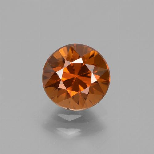 1.7ct Diamond-Cut Yellowish Orange Zircon Gem (ID: 434708)