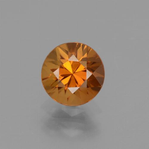 1.8ct Diamond-Cut Brownish Orange Zircon Gem (ID: 437494)