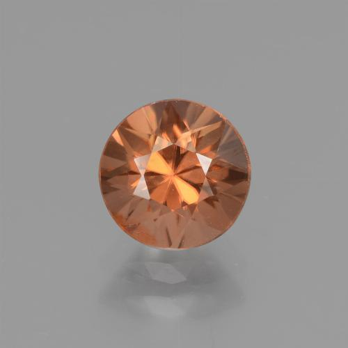 1.6ct Diamond-Cut Medium Orange Zircon Gem (ID: 437646)