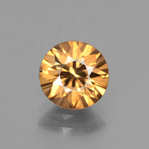 thumb image of 2.5ct Diamond-Cut Golden Zircon (ID: 442546)
