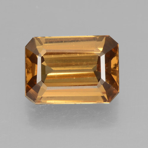 Medium Gold Circón Gema - 1.4ct Corte octagonal (ID: 463454)
