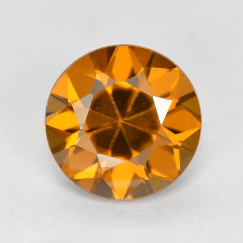 1.6ct Diamond-Cut Orange Brown Zircon Gem (ID: 481439)