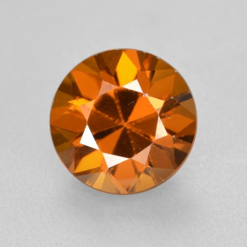 1.6ct Diamond-Cut Orange Brown Zircon Gem (ID: 481443)