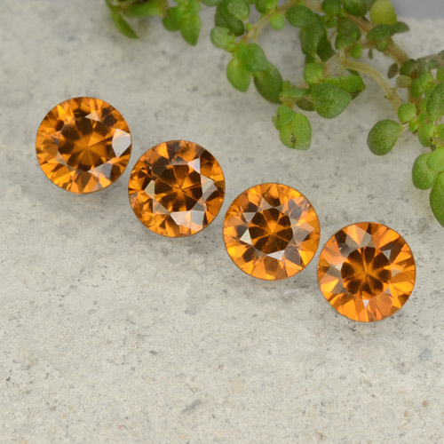 1.1ct Diamond-Cut Orange Brown Zircon Gem (ID: 481448)