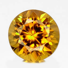 Buy 1.58 ct Golden Zircon 6.30 mm  from GemSelect (Product ID: 63490)