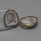 thumb image of 11.7ct Fancy Crystal Cluster Multicolor Agate Geode (ID: 454862)