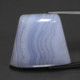thumb image of 42.2ct Trapezoid Cabochon Lavender Agate (ID: 432553)