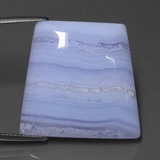 thumb image of 38.5ct Trapezoid Cabochon Lavender Agate (ID: 433435)