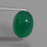 thumb image of 2.2ct Ovale cabochon Verde foresta Agata (ID: 437114)