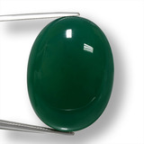 thumb image of 70.5ct Oval Cabochon Green Agate (ID: 457884)