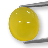 thumb image of 5.4ct Oval Cabochon Yellow Agate (ID: 458223)