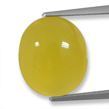 thumb image of 5.7ct Oval Cabochon Yellow Agate (ID: 458227)