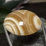 74.67 ct Oval Cabochon Mehrfarbig Achat Edelstein 31.73 mm x 26.8 mm (Photo B)
