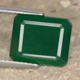 thumb image of 5.2ct Octagon Step Cut Green Agate (ID: 477911)