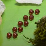 thumb image of 1.9ct Round Cabochon Deep Red Almandine Garnet (ID: 467883)