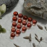 thumb image of 2.7ct Round Cabochon Red Almandine Garnet (ID: 467966)