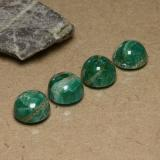thumb image of 3.4ct Round Cabochon Blue-Green Amazonite (ID: 490993)