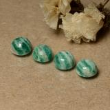 thumb image of 1ct Round Cabochon Blue-Green Amazonite (ID: 491724)
