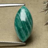 thumb image of 7ct Marquise Cabochon Blue-Green Amazonite (ID: 492109)