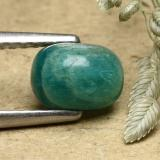 thumb image of 0.9ct Cushion Cabochon Blue-Green Amazonite (ID: 493314)