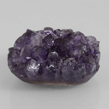 thumb image of 65.1ct Fancy Crystal Cluster Violet Amethyst Geode (ID: 391824)