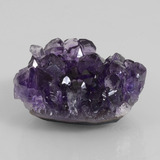 thumb image of 64.2ct Fancy Crystal Cluster Violet Amethyst Geode (ID: 391825)