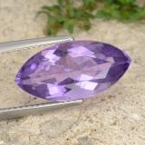 thumb image of 6.2ct Marquise Facet Violet Amethyst (ID: 351360)