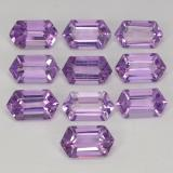 thumb image of 5.8ct Hexagon Cut Violet Amethyst (ID: 370673)