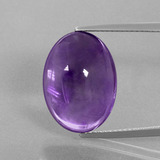 thumb image of 14.3ct Oval Cabochon Violet Amethyst (ID: 391306)