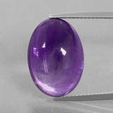 thumb image of 13.3ct Oval Cabochon Violet Amethyst (ID: 391314)