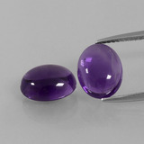thumb image of 5.1ct Oval Cabochon Violet Amethyst (ID: 392205)