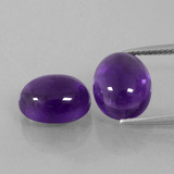 thumb image of 4.1ct Ovale cabochon Medium Violet Ametista (ID: 392287)