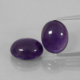 thumb image of 6.8ct Oval Cabochon Violet Amethyst (ID: 392323)
