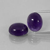thumb image of 8.4ct Oval Cabochon Violet Amethyst (ID: 392456)