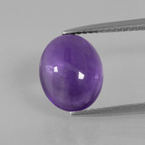 thumb image of 3.3ct Oval Cabochon Violet Amethyst (ID: 392506)