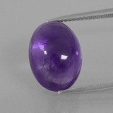 thumb image of 7.9ct Oval Cabochon Violet Amethyst (ID: 392768)