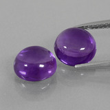 thumb image of 4.1ct Round Cabochon Violet Amethyst (ID: 392789)